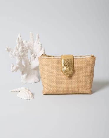 Mini Gold Raphia
