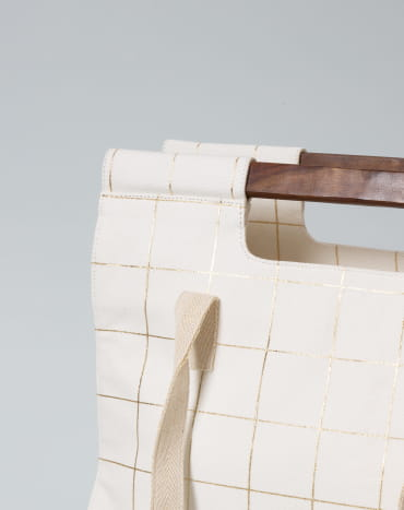 Wood Gold Tiles