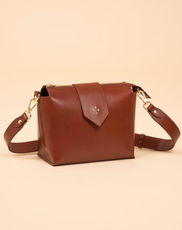 Molly M Recycled Cognac