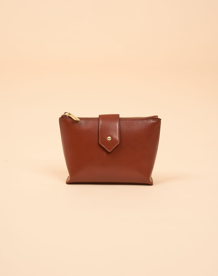 Mini Molly M Recycled Cognac